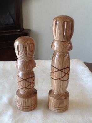 celtic knot pepper mills