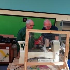 Keith mentoring Peter