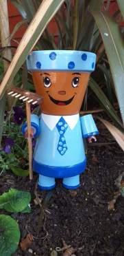 Mr Potts 4 inch pot as a head