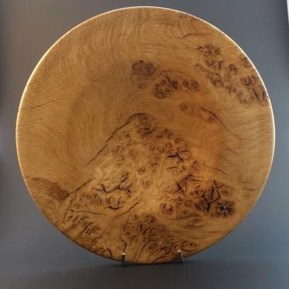Burr oak platter 27cm