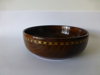 Wenge with decorative wooden banding