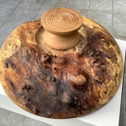 underside of bowl